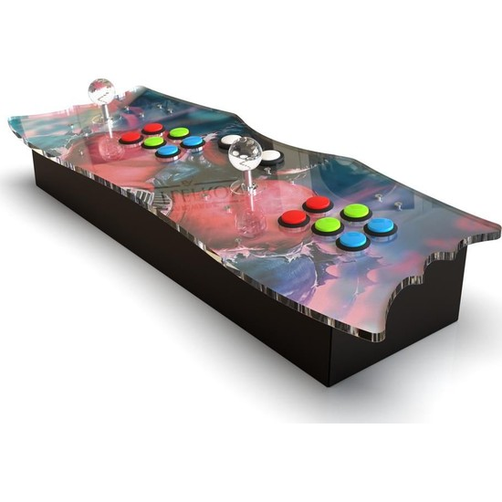 Arcade Station Pandora Box 6S Full Hd Hdmi̇ Çıkışlı Led Işıklı Retro Konsol