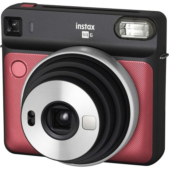 Fujifilm Instax Sq 6 Ruby Red Fotoğraf Makinesi