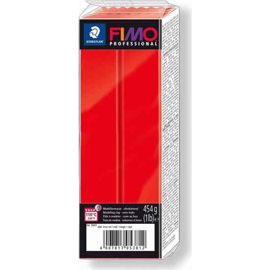 Staedtler Fimo Professional Polimer Kil 454Gr. Red