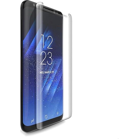 Twinix Samsung Galaxy S8 Uv Işınlı Ekran Koruyucu Tam Yapışan Cam