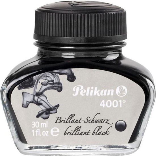Pelikan Dolma Kalem Mürekkebi Siyah 30 ml 4001