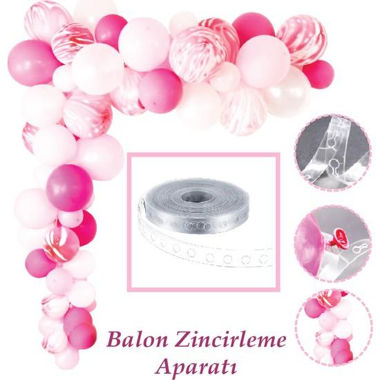 Can Balon Zinciri Aparatı Şeffaf 5 Metre