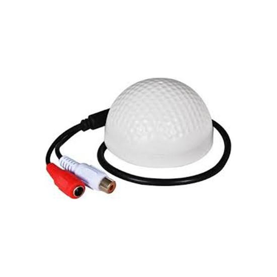 Sapp Güvenlik Kamerası Mikrofonu Jacklı Yuvarlak & Ses Kartlı