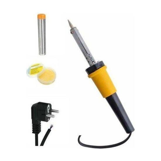 Xolo Tiger 40W Kalem Havya Makinesi Lehim Teli Pasta Tornavida Tip Lehim Kalemi Tabancası Tamir Seti