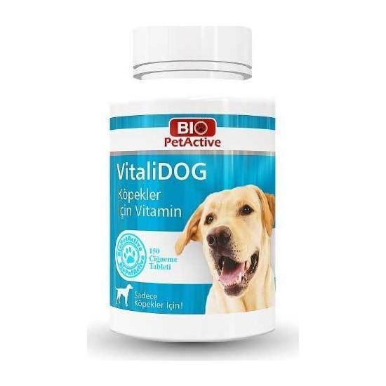 Bio Pet Active Vitalidog Köpek Multivitamin 150 Adet