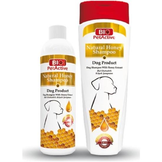 Bio Petactive Bal Özlü Ve Buğday Proteinli Köpek Şampuanı 400 Ml