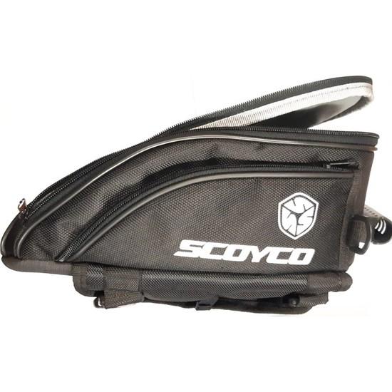 Scoyco MT61 Motosiklet Depo Üstü Çanta Siyah