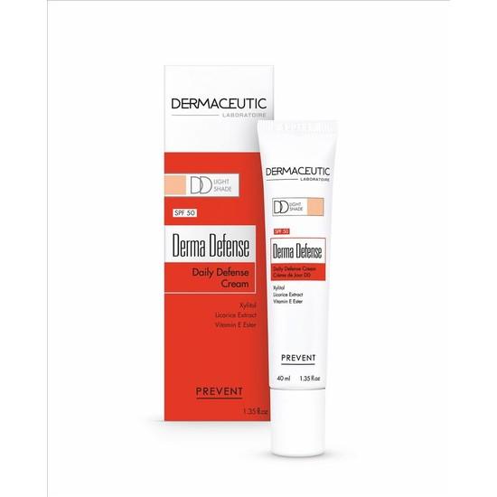 Dermaceutic Derma Defense SPF50 Light 40ml - Güneş Koruyuculu Açık Ton Gündüz Kremi