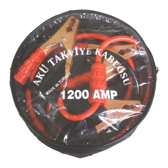 Gecko Akü Takviye Kablosu 1200 Amper Taşıma Çantalı + Hediye