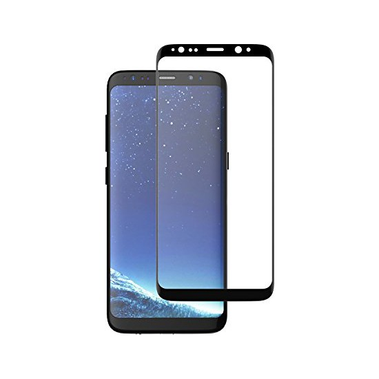 Monsterskin Samsung Galaxy S8 Plus Pet 5D Full Kaplayan İnce Ultra Darbeye Dayanaklı Ekran Koruyucu