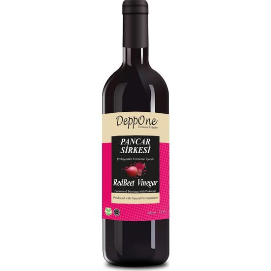 Deppone Fermente Kırmızı Pancar Sirkesi 50 ml