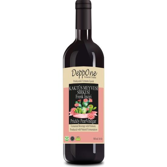 Deppone Fermente Frenk İnciri(Kaktüs Meyvesi) Sirkesi 500 ml