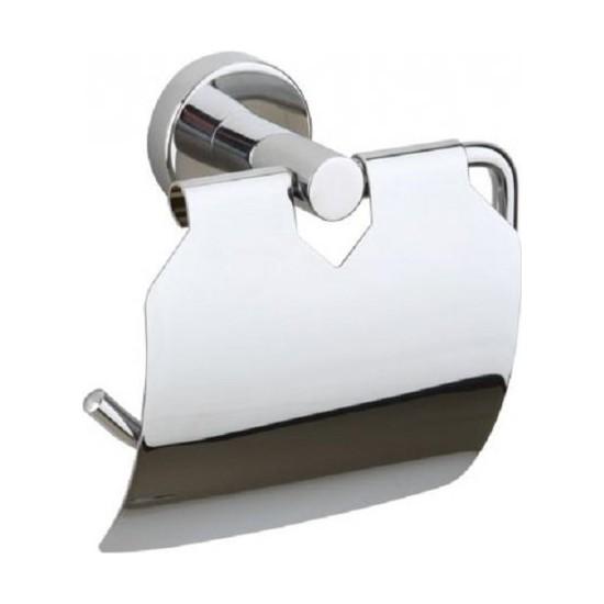 Delüx Metal Krom Kapaklı Wc Kağıtlık Delü x 203 G