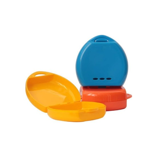 Pudra Diş Protez Saklama Kutusu/kabı Aparey Kutusu 3 Adet