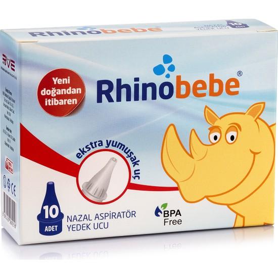 Rhinobebe Nazal Burun Aspiratörü Yedek Uç 1 Kutu
