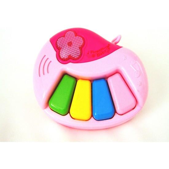 Eğlenceli Sesli Piyano Pembe