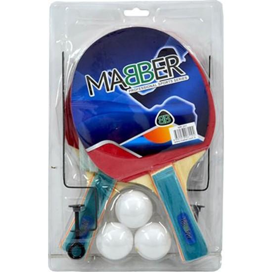 Mabber MR241 Raket Seti 2'li Fileli