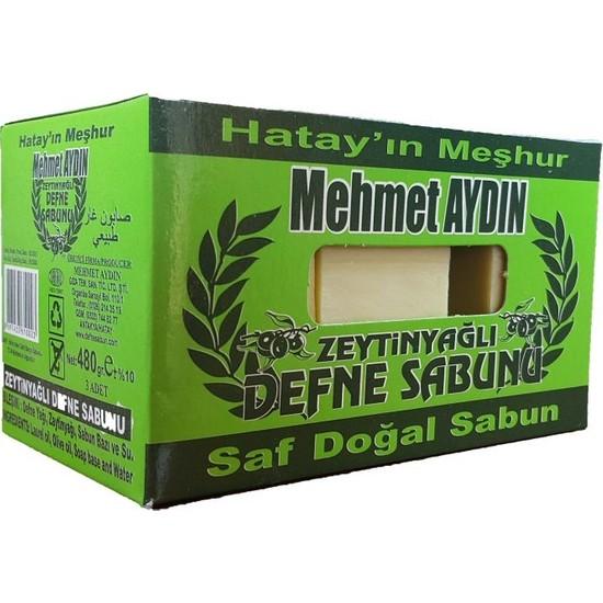 Mehmet Aydın Zeytinyağlı Defne Sabunu 480 gr