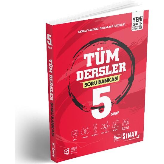 Sınav Yayınları 5. Sınıf Tüm Dersler Soru Bankası Ekitap İndir | PDF | ePub | Mobi