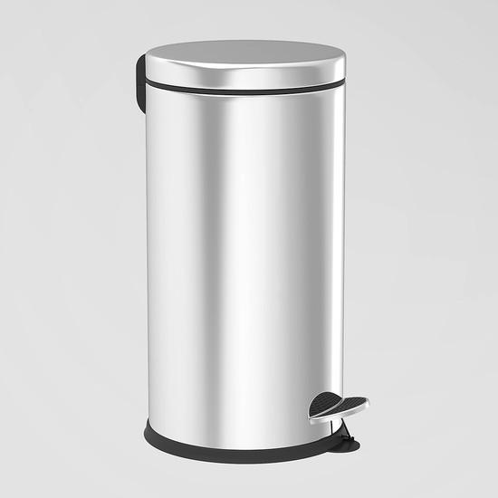 Sas 5 lt Krom Pedallı Çöp Kovası