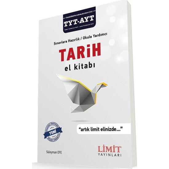 Limit Yayınları TYT-AYT Tarih El Kitabı (Konu Anlatım)