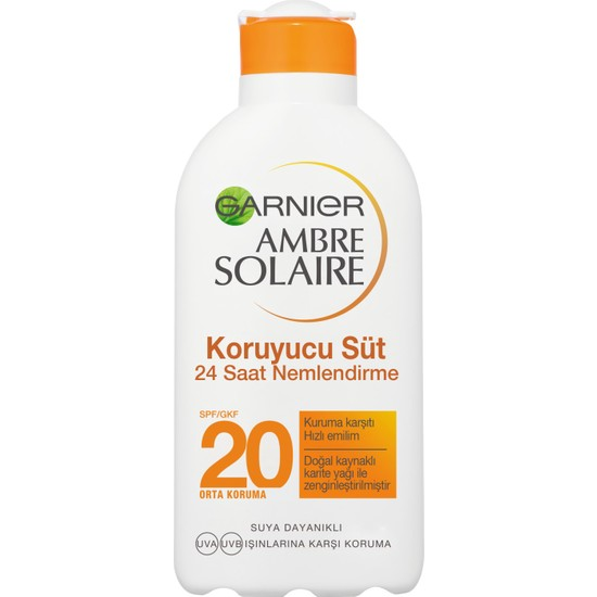 Garnier Ambre Solaire Koruyucu Süt GKF20 200ML