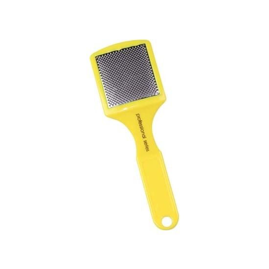 Trina Sarı Plastik Saplı Topuk Rendesi