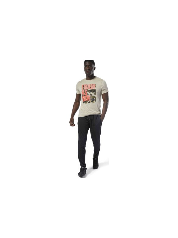 Reebok Wor Trckstr Pant Erkek Siyah Antrenman Tek Alt Dp6157
