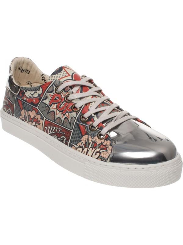 Goby 180027 Cosmic Magic Desing Slip Sneakers Kadın Spor Ayakkabı