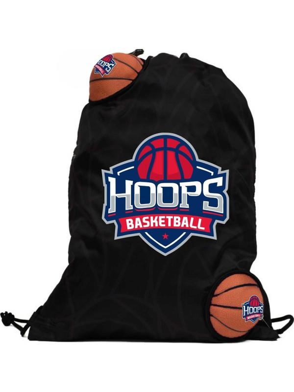 Hoops Basketball İki Mini Toplu Torba Çanta