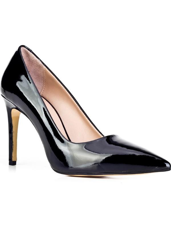 Cabani Günlük Ayakkabı Siyah Rugan