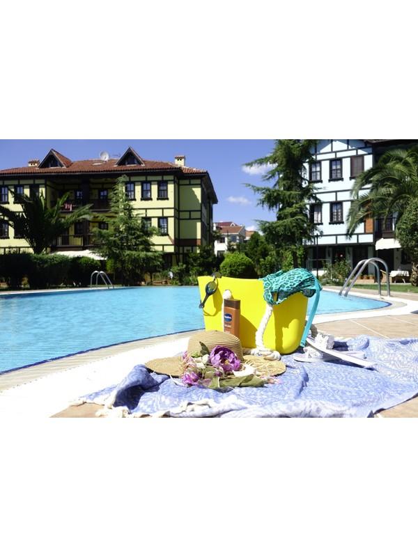 Picco Silikon Plaj Çantası Sarı