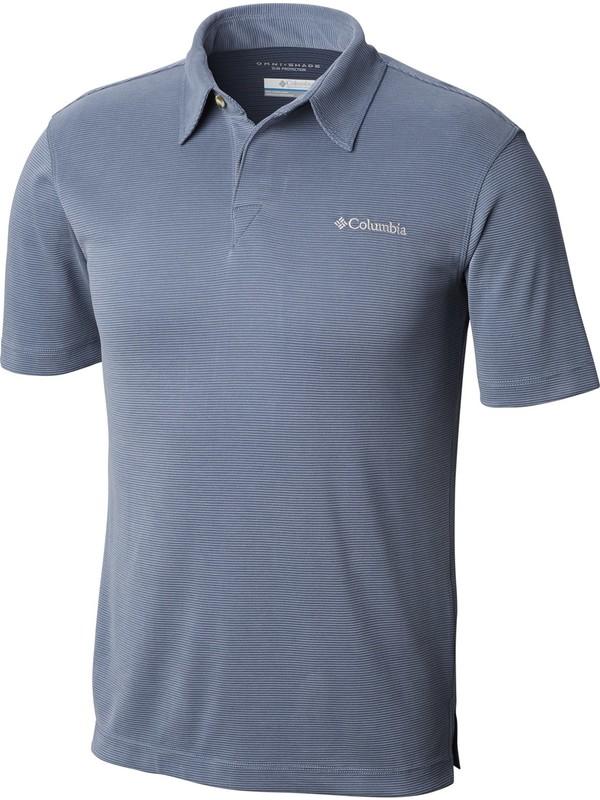 Columbia Em6527 Sun Ridge Polo Erkek Tişört Mavi