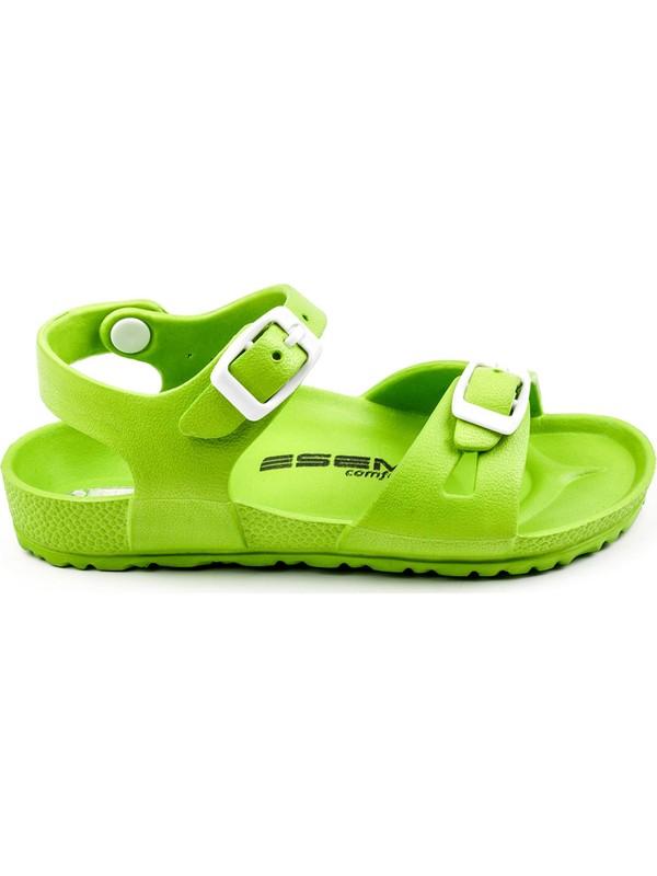Esem Esm001P001 Çocuk Sandalet Yeşil