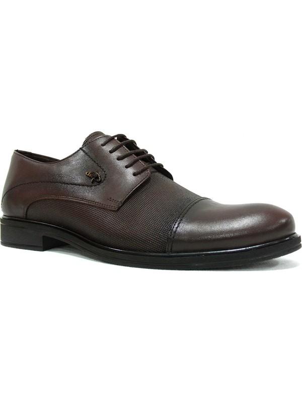 Dropland 5239 Kahverengi Bağcıklı Erkek Ayakkabı