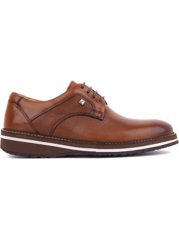 Sail Laker's Fosco Taba Deri Erkek Günlük Ayakkabı