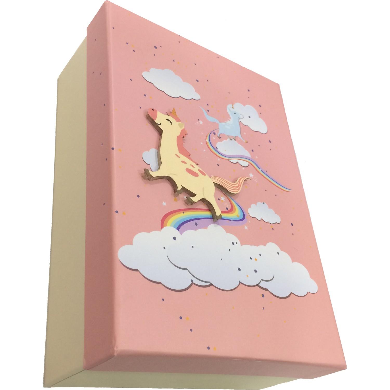 Gıpta Unicorn Dikdörtgen Hediye Kutusu