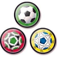 Nikidom Roller Çanta Için 3.Lü Rozet Aksesuar Balls Desen