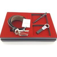 U.S. Polo Assn. İsme Özel Kemer Anahtarlık ve Kalem Seti