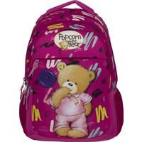 Ümit Çanta Popcorn The Bear Fuşya Kız Çocuk Ilkokul Sırt Çantası 2165