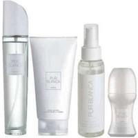 Avon Pur Blanca Edt 50 ml Bayan Parfüm 4'lü Fırsat Seti