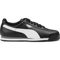 Puma 35357211 Roma Basic Black-White- Silver Spor Ayakkabı