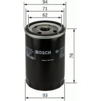 Bosch Yağ Filtresi 200 400 600 2.0 96