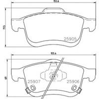 Bosch Fren Balatası Ön Fiat 500L 1.4 1.6 D Multıjet 092013 Bos 0986494801