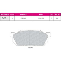 Ferbe Fren Balatası Ön Wva 20959 Honda Civic 1.3 1.4 1.5 87 91