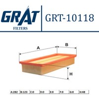 Grat Hava Filtresi Fiat Panda II 1.1I 1.2I 903 Grt 10118