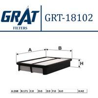 """Grat Filtre Hava Toyota Corolla 9398 """"1.6 Inj. Ae101"""" Grt 18102"""