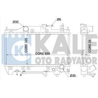"Kale Su Radyatörü Toyota Avensis 9700 ""Otomatik"" 659X325X26 Klr 342190"