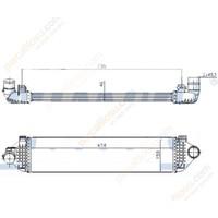 Kale Turbo Radyatörü Intercooler Ford Mondeo Iv 0714 S Max Galaxy 06 1.6 Sıgma Gdtı 16V Volvo S60 S80 II V40 V60 V70 III Klr 344925