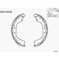 Mga Kampana Balata Nissan Skystar D23 02 K1189 Mga 54229